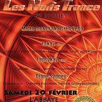 Party flyer: 20/02/2016 LES NUITS TRANCE BY DJ SYDNEY 20 Feb '16, 21:00h