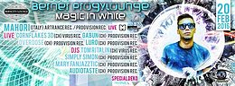 Party flyer: Berner Progylounge - ॐ★ Magic in White ★ॐ 20 Feb '16, 22:00h