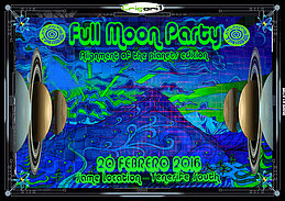 Party flyer: FULLMOON PARTY - TENERIFE SOUTH 20 Feb '16, 22:00h