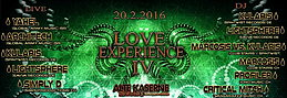 Party flyer: **LOVE EXPERIENCE IV** 20 Feb '16, 23:00h