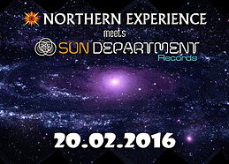 Party flyer: Northern Experience meets Sun Department Records 20 Feb '16, 22:00h