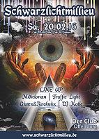 Party flyer: SCHWARZLICH MILIEU 20 Feb '16, 22:00h