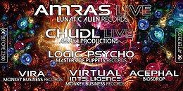 Party flyer: Secret Trancemission with AMRAS & CHUDL Live 20 Feb '16, 22:00h