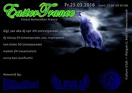 Party flyer: Easter Trance (Remember Trance) 25 Mar '16, 22:00h