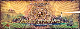 Party flyer: ♪♫ ▅ ▆ ▇ ॐ BURNING MOUNTAIN FESTIVAL 2016 ॐ █ ▇ ▆ ♪♫ 23 Jun '16, 13:00h