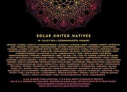 Party flyer: Solar.United.Natives Festival 2016 18 Jul '16, 22:00h