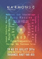 Party flyer: HARMONIC Festival 2016 20 Jul '16, 09:00h
