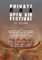 Party flyer: Private Goa Open Air Festival 22 Jul '16, 20:00h