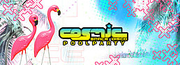 Party flyer: Cosmic - Poolparty mit ACE VENTURA 23 Jul '16, 14:00h
