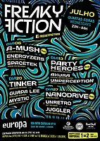 Party flyer: FREAKY FICTION 27 Jul '16, 23:00h