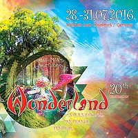Party flyer: Waldfrieden Wonderland 2016 28 Jul '16, 16:00h