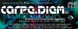 Party flyer: Carpe Diem / 4to Aniversario de Festival Fuera del Tiempo México 29 Jul '16, 12:00h