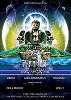 Party flyer: Club 414 presents... Psy Trance 29. Jul 16, 23:00h