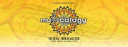Party flyer: MUSICOLOGY Festival Greece / 29/7 - 1/8.2016. 29 Jul '16, 22:00h