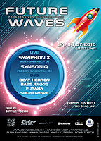 Party flyer: Future Waves 30 Jul '16, 23:00h