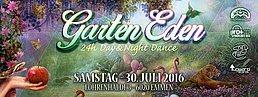 Party flyer: Garten Eden 30 Jul '16, 10:00h