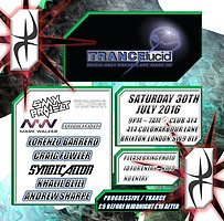 Party flyer: TRANCElucid @Club414 SAT 16TH JULY 2016 ** TRANCE & PROGRESSIVE ** 30 Jul '16, 21:00h