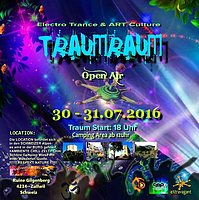 Party flyer: Traumraum 30 Jul '16, 18:00h