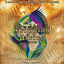 Party flyer: TRIPPING AFRICA 2016 ECLIPSE PSYFARI 1 Aug '16, 04:30h