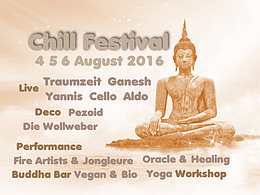 Party flyer: CHILL Festival 2016 4 Aug '16, 18:00h