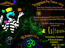 Party flyer: ToleRance meets Kulturufer 2016 6 Aug '16, 21:00h