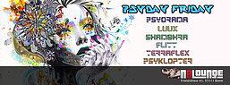 Party flyer: Bonn Goa ► Psyday Friday 12 Aug '16, 22:00h