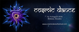 Party flyer: Cosmic Dance Festival 12 Aug '16, 20:00h