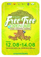 Party flyer: Free Tree Open Air 12 Aug '16, 14:00h