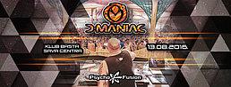 Party flyer: ••• D Maniac at Belgrade ••• 13 Aug '16, 23:00h