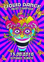 Party flyer: ॐ Liquid Dance ॐ Next Chapter ॐ 13 Aug '16, 22:00h