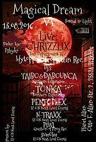 Party flyer: Magical Dream VI 13 Aug '16, 22:00h