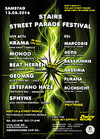 Party flyer: Stairs - Street Parade Festival - After Party 13 Aug '16, 22:00h