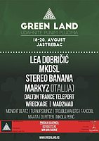 Party flyer: GREEN LAND FEST 18 Aug '16, 09:00h
