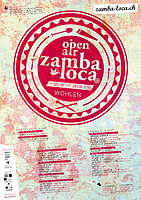 Party flyer: Open Air Zamba Loca 2016 25 Aug '16, 19:00h