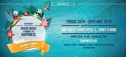 Party flyer: Where Music change to Happiness Tropical Festival @ Braga (Portugal) 26 Aug '16, 10:00h