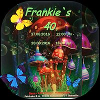 Party flyer: Frankie`s 40, 27 Aug '16, 13:00h