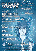 Party flyer: Future Waves 27 Aug '16, 23:00h