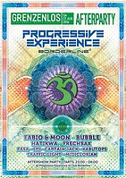 Party flyer: Progressive Experience (Afterparty Grenzenlos) 27 Aug '16, 23:00h