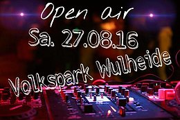Party flyer: Sonne Bier und Sterne OA in der Wuhlheide 27 Aug '16, 13:00h