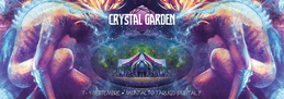 Party flyer: Crystal Garden 2016 - Psychedelic Gathering 1 Sep '16, 16:00h