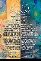 Party flyer: ॐ MUNAY Festival 2016 ॐ 1 Sep '16, 12:00h