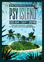 Party flyer: PSY ISLAND FESTIVAL 2016 2 Sep '16, 18:00h
