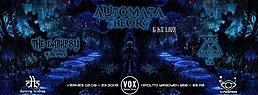 Party flyer: The Darkpsy of The Force features Automata Theory All Night Alive 2 Sep '16, 23:30h