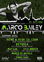 Party flyer: BÄRN TANZT! presents: Marco Bailey 3 Sep '16, 22:00h