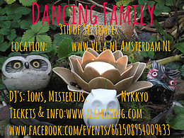 Party flyer: Dancing Family 3 Sep '16, 17:00h