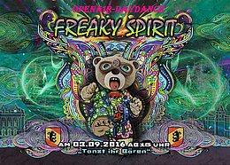 Party flyer: FreakySpirit - DayDance/OpenAir 3 Sep '16, 15:00h