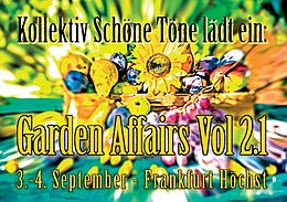 Party flyer: garden affairs 2.1 3 Sep '16, 22:00h