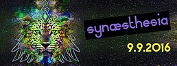 Party flyer: Synæsthesia - Overload live & Quadrant live 9 Sep '16, 23:00h
