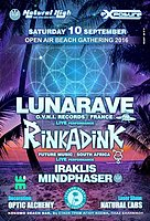 Party flyer: Natural Exposure Beach Party with LUNARAVE - RINKADINK & MINDPHASER !!! 10 Sep '16, 23:00h