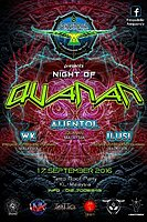 Party flyer: Night of Quanan 17 Sep '16, 20:00h
